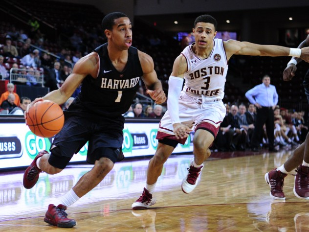 Men S Basketball Beats Boston College Harvard Magazine