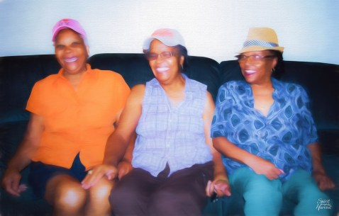 3 Great-Aunts by LaShawnda Jones for Spirit Harvest Edits in LightRoom, PhotoShop and Topaz Impressions/Georgia O'Keefe I x2 100% and 30%