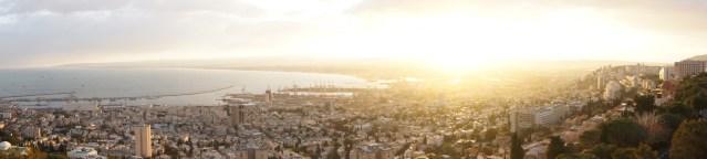Sunrise over Haifa Bay, Israel (2012)