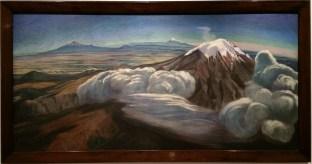 Volcanoes / Volcanes by Dr. Atl (Gerardo Murillo), c. 1952