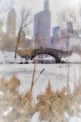 2015 Challenge, Week 8: ARCHITECTURE – BRIDGES Gapstow Bridge in Central Park was my go-to bridge this week. It was a beautiful day when I shot this, but most of my photos came out really blah. Thank goodness for the new life editing provides! I was really taken with the washed out silhouette that doesn't suggest the City at all (in the comments), but at the last second (as I'm typing up my post) I've decided to go with a color edit with the City as background. Sony A33, 18mm, ISO 100, f4.5, 1/30 sec. Post in Lightroom.