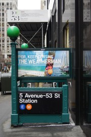 Subway station between Park & Madison Aves on 53rd Street