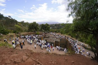Cross Church at Lalibela (2020)