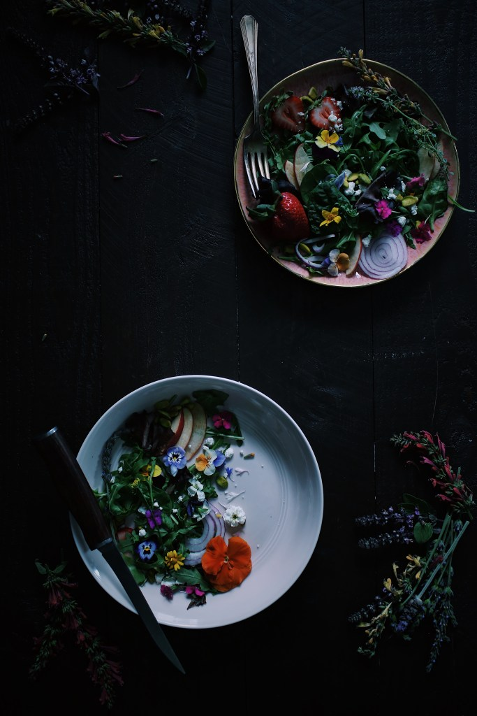 Edible flower inspiration