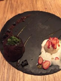 Navarra's Dark Chocolate Coulant