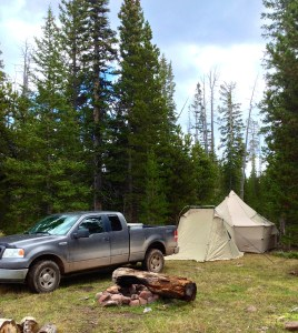 Base Camp for High Elevation Hunting