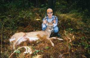 Archery whitetail buck