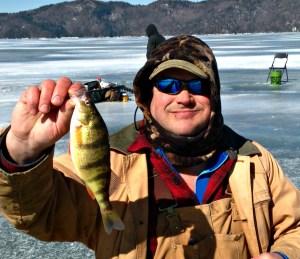 Late Season Ice Fishing