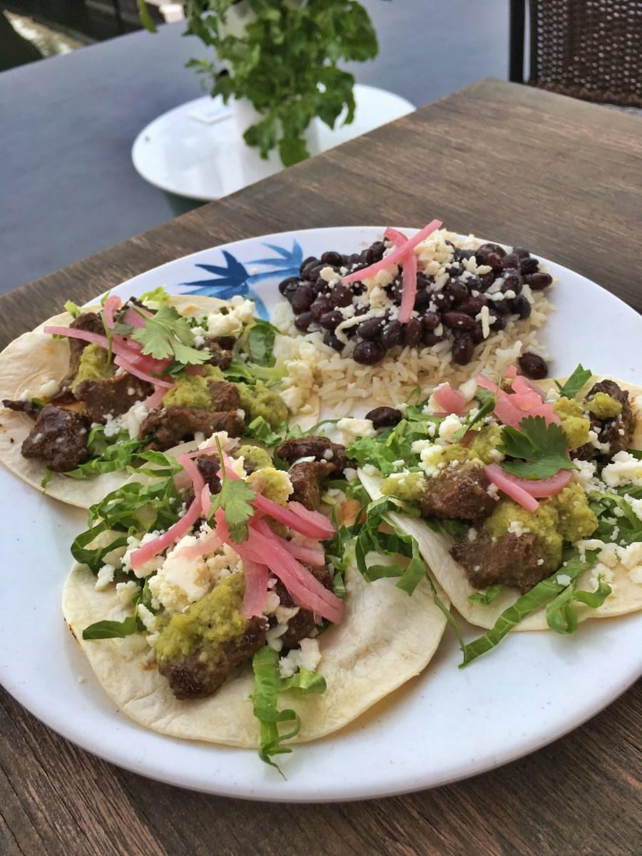 Seared Venison Tacos