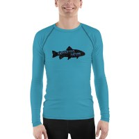 Freshwater Fishing Men's Rash Guard