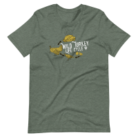Wild Turkey Life Cycle T-Shirt