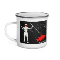 Blackbeard Spearfishing Enamel Mug