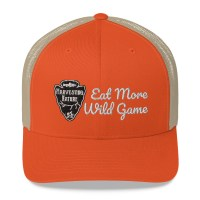 Wild Game Orange Trucker Cap