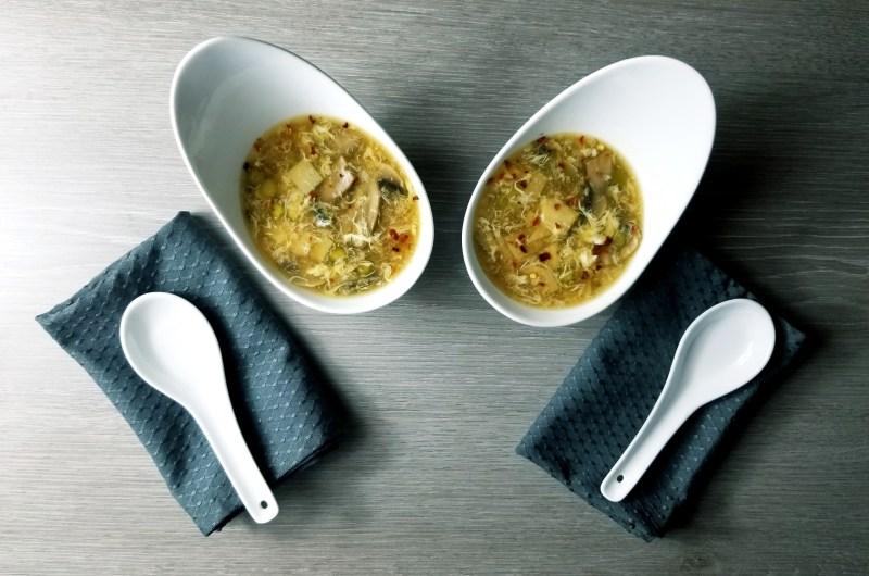 Antelope & Asparagus Hot & Sour Soup
