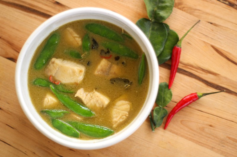 Pike Green Curry