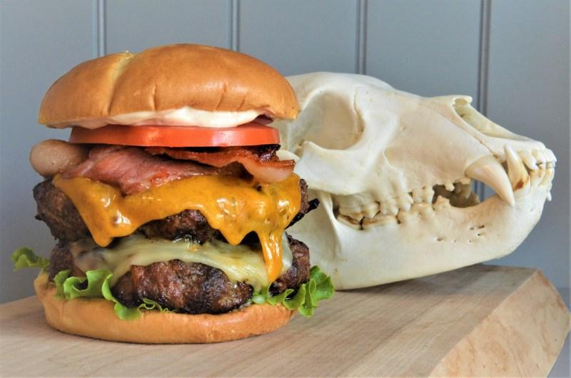 The Triple B Burger: Bacon Black Bear