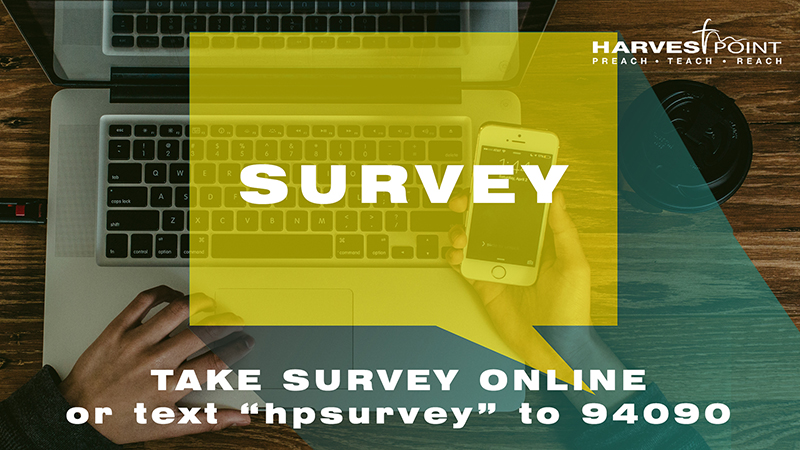 Church Wide Survey for Re-Entry