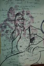 Ava Lauren, Marker on Paper, 2017