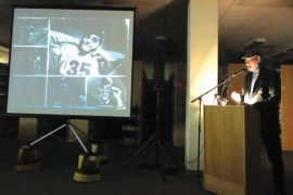 Taylor Harris is one of the various speakers featured during a Talk20 Hutch program.
