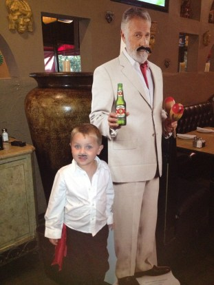 The little guy is the REAL most interesting man in the world.