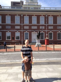 Independence Hall... Where our nation, essentially, began.