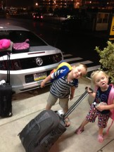 Hertz tried to rent us the Mustang pictured here. The kids thought it would be just fine. Mommy and Daddy thought otherwise.