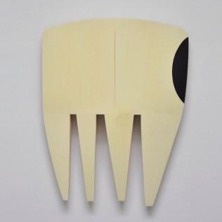 "Robert Brady ""Untitled"", wood/paint, 35 x 26 x 4 inches"