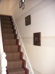 striped hallway wimbledon
