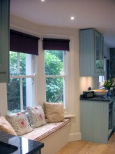 shaker kitchen view 2