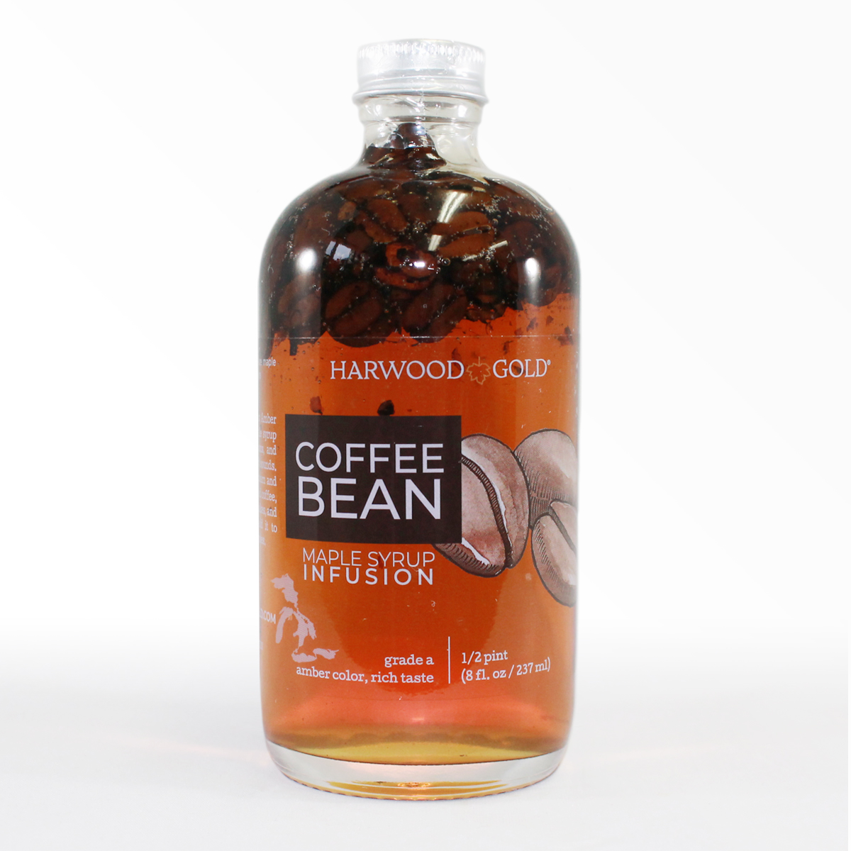 Harwood Gold Coffee Bean Maple Syrup Infusion