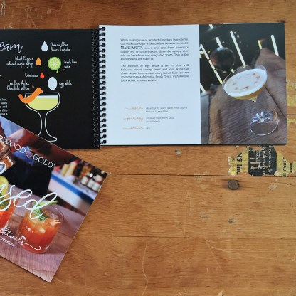 Harwood Gold Infused Cocktail Recipe Book