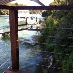 Harwood Menuisier escalier bois ponton