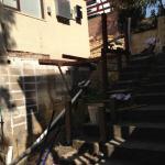 Harwood Menuisier escalier extérieur