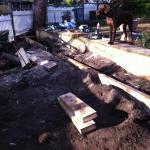 Harwood Menuisier mur de soutènement bois
