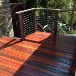 Harwood Menuisier terrasse bois escalier