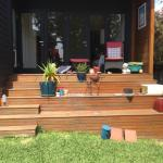 Harwood Menuisier terrasse bois extension