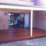 Harwood Menuisier terrasse bois jardin pergola