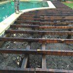 Harwood Menuisier terrasse bois piscine