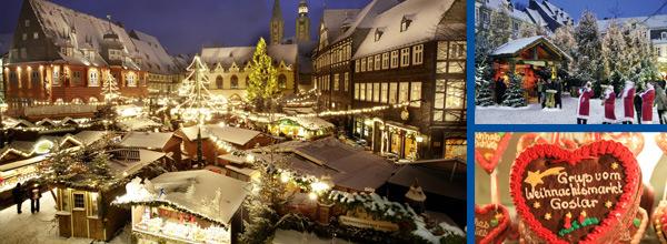 Weihnachtsmarkt in Goslar im Harz