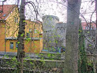 Bild: Die Schale an der Eine in Aschersleben.