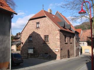 Bild: Das Haus des Hans und der Margarethe Luther in Mansfeld - hier verbrachte Martin Luther einige Jahre seiner Kindheit und Jugend.