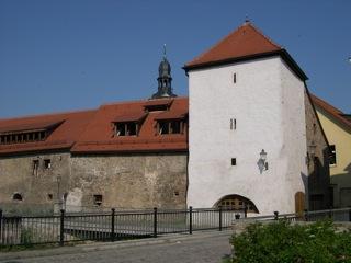 Bild: Das Brücktor oder Wassertor oder Kordegarre in Hettstedt an der Wipper.