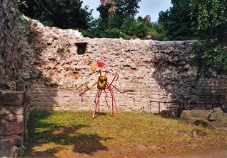 Bild: Die Unterburg am Kyffhäuser.