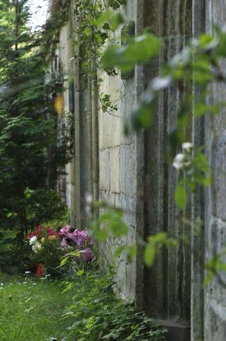 Bild: Gruft auf dem Servatifriedhof zu Quedlinburg.