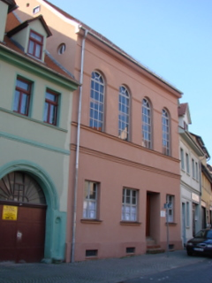 Bild: Die ehemalige jüdische Synagoge zu Eisleben.