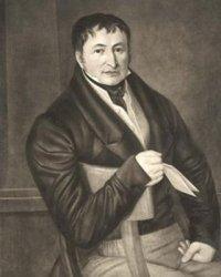 Bild: Friedrich Koenig, der Erfinder der Buchdruckerschnellpresse. Dieses Bild ist gemeinfrei, weil seine urheberrechtliche Schutzfrist abgelaufen ist.