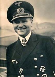 Bild: Portrait des U-Boot Kommandanten Heinrich Bleichrodt. Bild: In den USA ist dieses Bild public domain.