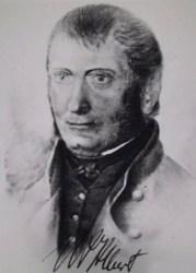 Bild: Wilhelm August Julius Albert - der Erfinder des Drahtseiles. Die Schutzdauer für das von dieser Datei gezeigte Werk ist nach den Maßstäben des deutschen Urheberrechts vermutlich abgelaufen. Es ist daher vermutlich gemeinfrei.