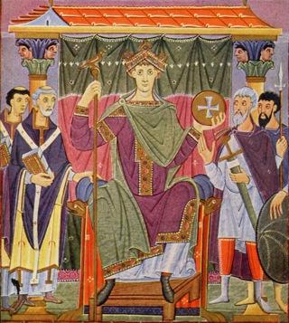 Bild: Otto III., der Sohn und Erbe Ottos II. Dieses Bild steht unter der GNU Free Documentation Licence.