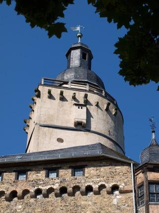 Bild: Die Burg Falkenstein im Unterharz.
